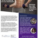 Art of Breathing and Core Stabilization Workshop at Equilibrium