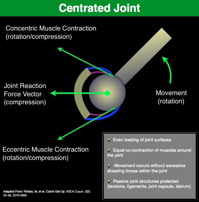 Centrated Joint